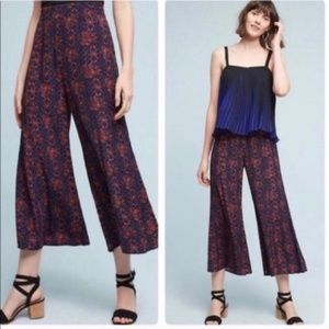 Elevenses Tessie Wide Leg Cropped Pants Size 8